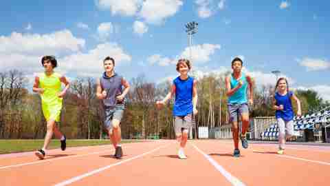 Sports and activities for kids with ADHD: track and cross-country