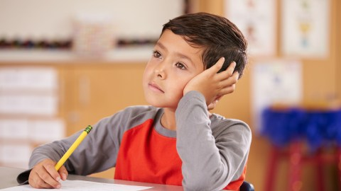 A daydreaming student could use a fidget toy to keep him relaxed and alert.