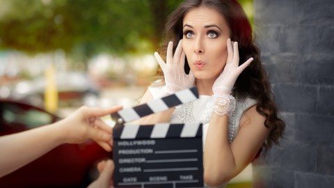 An adult with ADHD works as an actress in a creative field that capitalizes on ADHD energy and creativity.