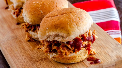 Sloppy joe sliders can be a healthy meal with this recipe.