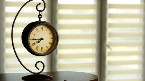 Old clock, which important because people who have ADHD lose track of time