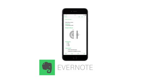 Evernote is a great app to improve productivity for people with ADHD