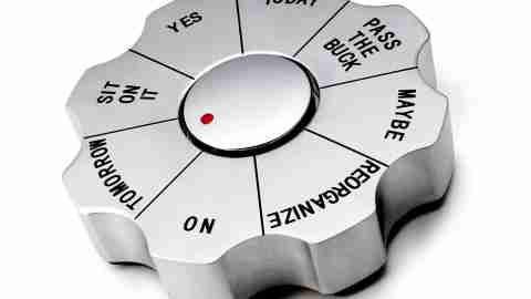 A decision paperweight solves the ADHD problem of indecisiveness