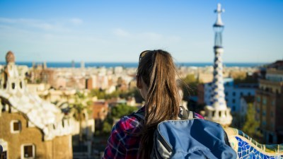 A student with ADHD backpacks across Europe during her gap year between high school and college.