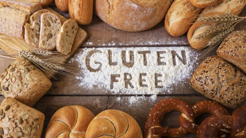 Gluten free bread and preztels are part of a healthy ADHD diet for kids.
