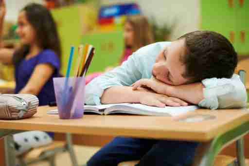 Boy with ADHD does not want to pay attention in school