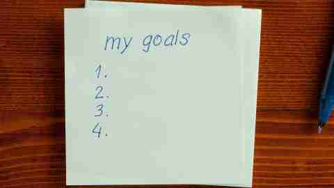 A list of goals is important, but appreciating small successes when you have ADHD is even more important.