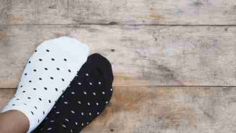 Missing and mismatched socks are common for kids with ADHD.