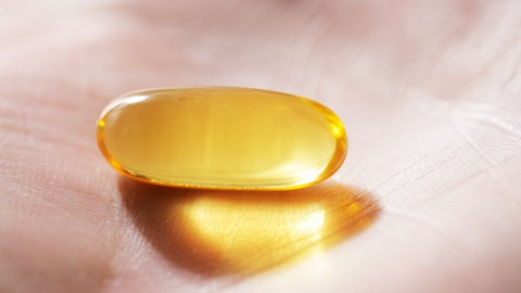 A fish oil capsule used to treat symptoms of low-level sadness associated with limbic ADD.