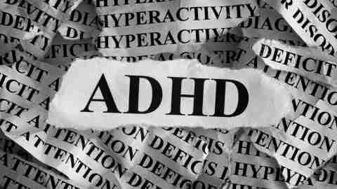 A depiction of the many different kinds of adhd and the other comorbid conditions that frequently accompany it.