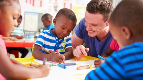 Helping your child appreciate his teacher, this child here, is a staple of back-to-school lists.