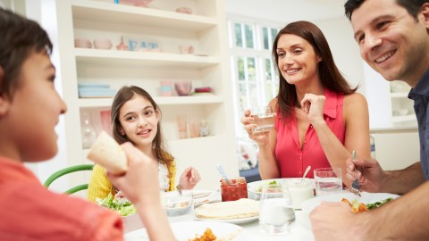 A family having a frank adhd discussion, a good idea to include on your back-to-school list.