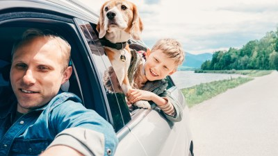 A family taking a road trip holiday while also taking a drug holiday for their child with adhd.