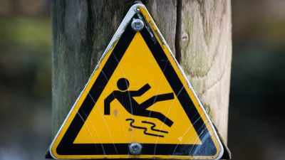 Slip & Fall Signs for the accident-prone