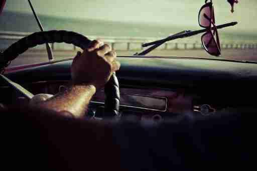 Regaining Self-Esteem: Man Driving