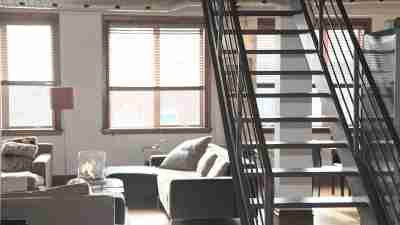 Organized, clean, home with stairs leading to second floor