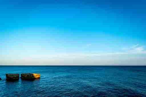Keep Cool, Calm Waters, Blue Sky
