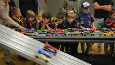 Extracurricular activities, like Boyscouts help improve social skills