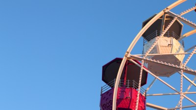 Schedule playtime for your ADHD child, like a ride on a Ferris Wheel