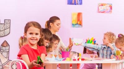 ADHD children enjoying themselves at school.