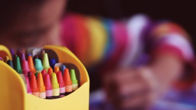 Have students color key directions to improve listening skills