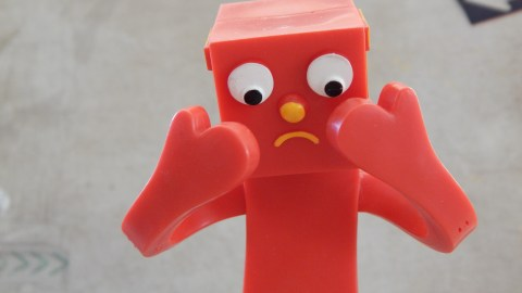 Upset toy representing the homework frustration ADHD kids feel