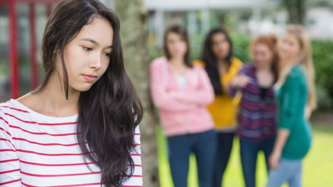 A teen getting bullied and wondering what advice she should follow