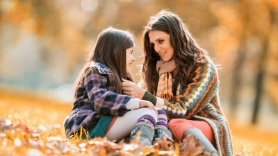 An overwhelmed mom decides to block out everything else, and just enjoy time with her daughter in the park.