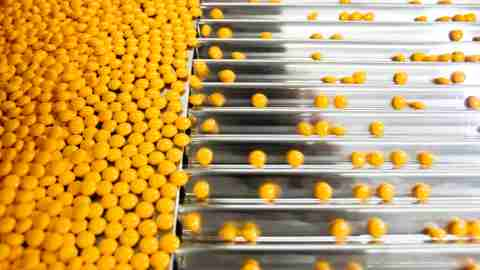 Medication for ADHD being produced in a factory