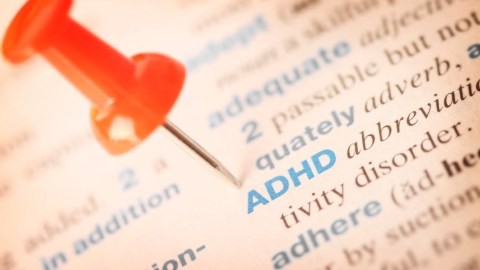 Pin on the word ADHD in a book that covers some of Dr. Amen's healing techniques