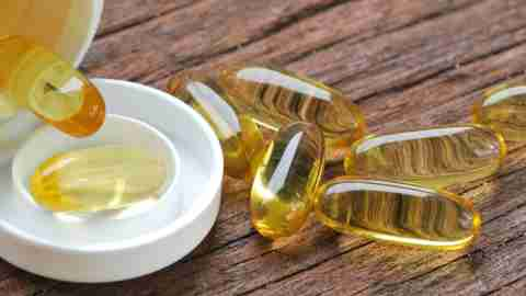 Supplement capsules used by Dr. Amen to heal ADHD