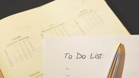 The To Do list of a person with ADHD