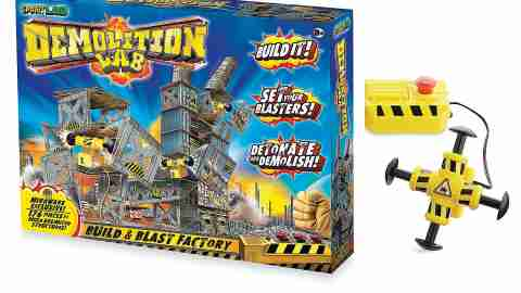 Demolition Lab is a great gift for kids with ADHD.
