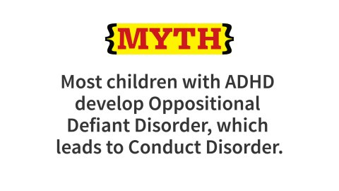 The incidence of oppositional defiant disorder (ODD) in children with ADHD ranges from 40 to 70%. The higher rates are usually for persons with the combined type of ADHD. ODD is characterized by chronic problems with negativistic, disobedient, defiant and/or hostile behavior toward authority figures. Typically, ODD is apparent at about 12 years of age and persists for about six years and then gradually remits. More than 70% of kids diagnosed with ODD never develop Conduct Disorder.