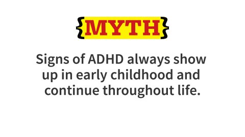 Recent research has shown that many with ADHD function well during childhood and do not manifest any significant symptoms until adolescence or later, when greater challenges to executive function are encountered. Over the past decade research has shown that impairing symptoms of ADHD often persist well into adulthood. However, studies have also shown that some individuals with ADHD during childhood experience significant reductions in their impairments as they grow older.