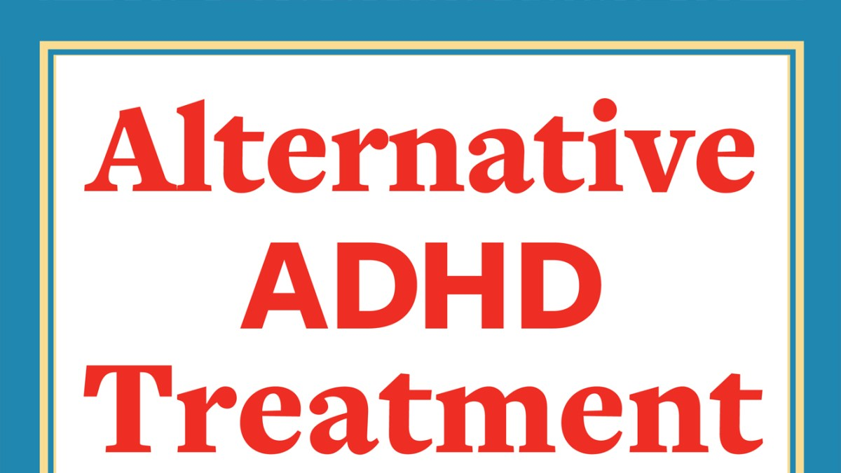 alternative adhd treatments for adults