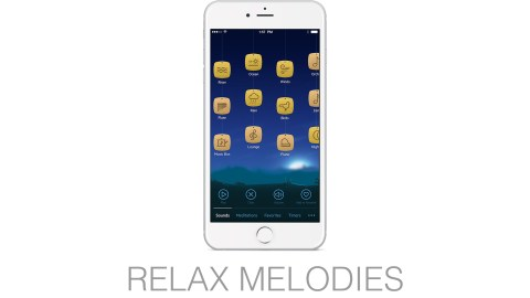 Let your obsessive ADHD thoughts drift away as you lay back, listen, and enjoy falling asleep with the Relax Melodies app