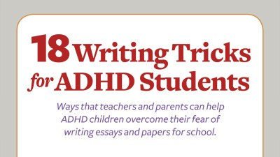 Writing tricks for students with ADHD
