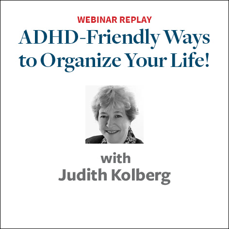 adhd organize your life