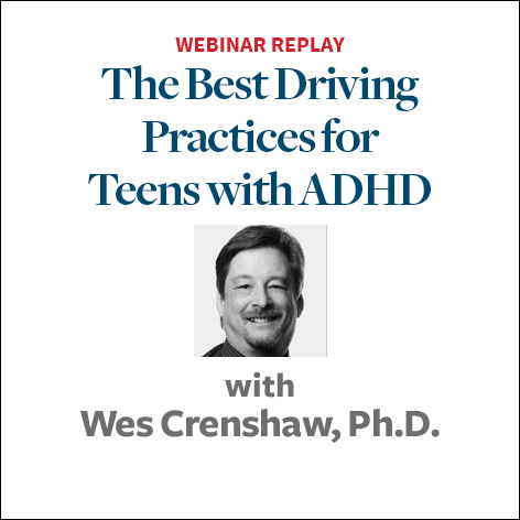the best practices for adhd teens behind the wheel