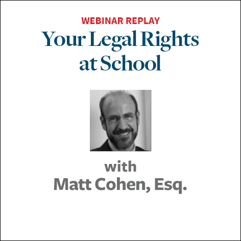 your legal rights at school2