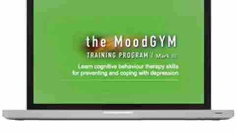 Mood Gym: Cognitive Behavioral Training Program