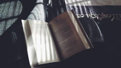 Woman readaing a book