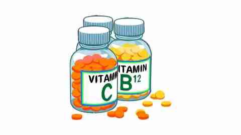 Vitamins for ADHD symptoms treatment