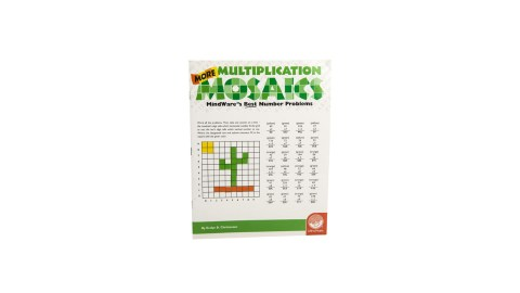 Multiplication mosaics are a great product for children with ADHD