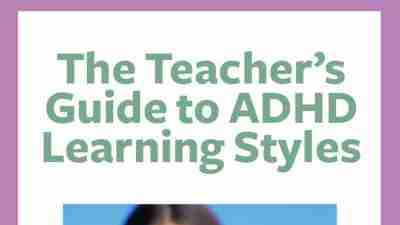 The Teacher's Guide to ADHD Learning Styles cover