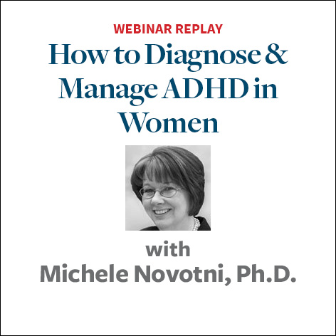 how to diagnose and manage adhd in women