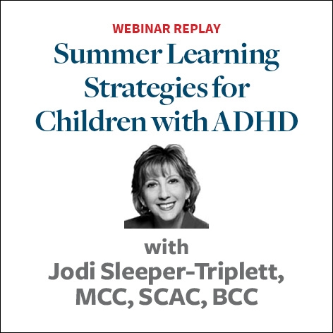 summer learning strategies for adhd children