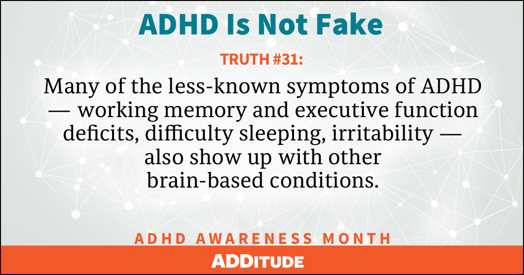 adhd awareness month  add is not fake