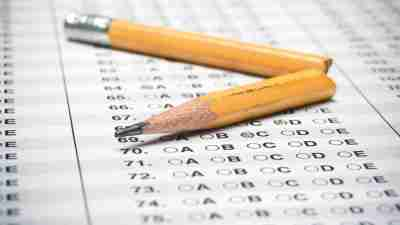 A standardized test for a college class, grade protected by FERPA restrictions